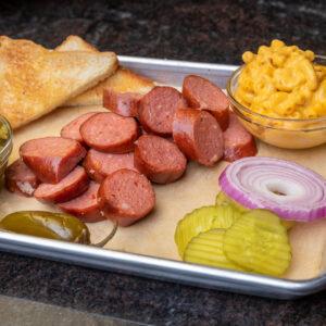 BBQ BASKETS/PLATES : SAUSAGE